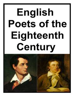 English Poets of the 18th Century 5