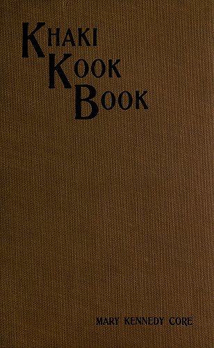 Khaki Kook Book 6