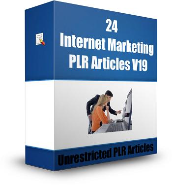 Internet Marketing Articles V19 8