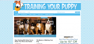 How To Train Your Puppy WordPress Blog