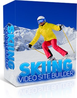 Skiing Video Site Builder 1