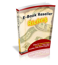 How important are Ebooks with Resell Rights? 1