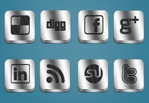 Metallic-Social-Media-Icons