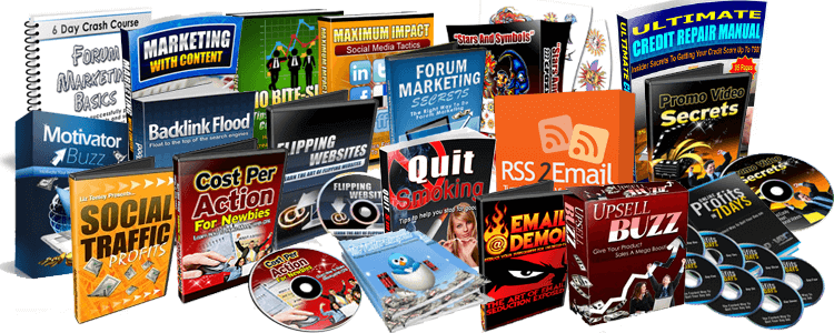Resell Ebooks, Trivia, Ebook Kits, Niche blogs, & Memberships