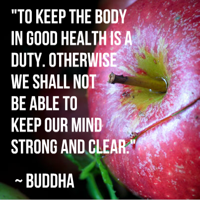 Keep your body healthy