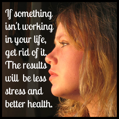 Less stress & better health