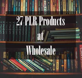 Wholesale MRR & PLR